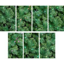 Philips Pre Lit Christmas Tree Replacement Bulbs by Philips 7 5ft Prelit Artificial Christmas Tree Douglas Fir Color