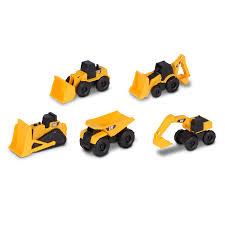 100 Cal Mini Truck Amazoncom Toy State Caterpillar Construction Machine 5Pack