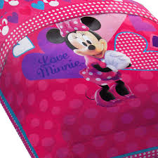 Minnie Mouse Twin Bed In A Bag by Disney Minnie Mouse Bed Comforter Hearts Bow Tique Bedding