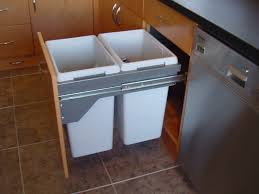 Under Cabinet Trash Can With Lid by 28 Kitchen Cabinet Bin New 40l 2x20 Pull Out Kitchen Waste