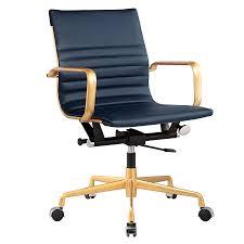 mirana blue modern office chair eurway furniture