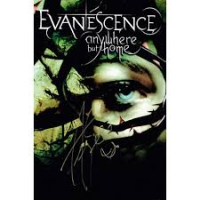 Evanescence Anywhere but Home 2004 Go Autographs