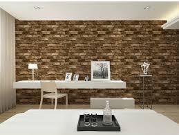 3d vinyl vintage shabby brick design wallpapertv background ikea wallcovering modern wall paper roll for living room