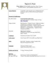 Fresh Sample Resume For Housekeeping With No Experience Of Onda Rhondadroguescom Best Cover Letter Job Rhagarioskinsco