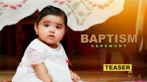 Baptism Decorations Ideas Kerala by Baptism Ceremony Of Serah Aney Anish Teaser Youtube