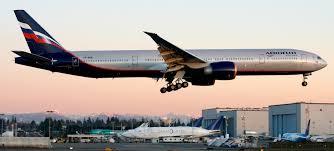 boeing 777 extended range photos aeroflot s livery on their boeing 777 300er