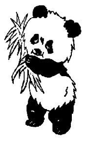 Panda Coloring Pages Free Page
