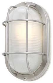 11 oval bulkhead light 39956 ss style outdoor wall