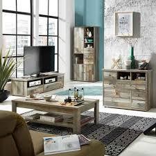 lomadox wohnzimmer set branson 36 mega spar set 4 tlg wohnzimmerset vintage driftwood couchtisch tv lowboard schrank kommode