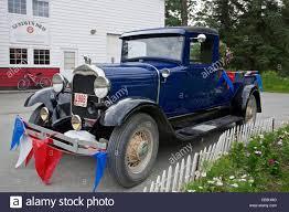 100 35 Ford Truck Antique Truck Gustavus Alaska USA Stock Photo 41261628 Alamy