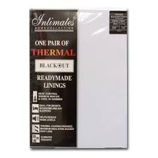 Thermal Curtain Liner Fabric by Curtains Readymade Blackout Lining