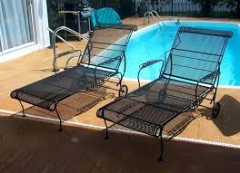 Walmart Patio Chaise Lounge Chairs by Wrought Iron Chaise Lounge U2013 Mobiledave Me