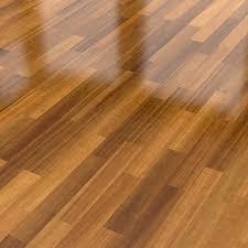 Dark Wood Parquet Floor Background Stock Photo