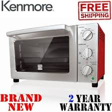 Image Is Loading New KENMORE 6 Slice Red Convection TOASTER OVEN
