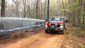 100 Brush Fire Truck Fighting A Brush Fire Using Anchor Richey EVS Brush Truck With Front
