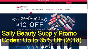 Sally Beauty Supply Promo Codes: Up To 35% Off (2018) - YouTube Sally Beauty Supply Hot 5 Off A 25 Instore Purchase 80 Promo Coupon Codes Discount January 2019 Coupons Shopping Deals Code All Beauty Bass Outlets Shoes Free Eyeshadow From With Any 10 Inc Best Buy Pre Paid Phones When It Comes To Roots Know Your Options Deal Alert Freebie Contea Amazon Advent Calendar Day 9 Hansen Gel Rehab Online Stacking For 20 App
