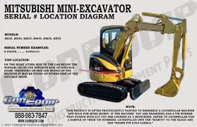100 Heavy Truck Vin Decoder Serial Number Location For Your Mitsubishi Mini Excavator