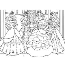 Barbie Princess Coloring Page 9 Top 36 Free Printable Pages Online