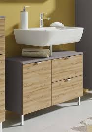 monson badezimmer waschbecken unterschrank graphit grandson eiche günstig möbel küchen büromöbel kaufen froschkönig24