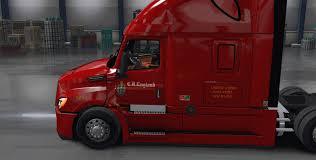 100 Cr England Truck CR Skin For Cascadia 2018 American Simulator