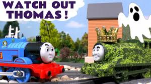 Thomas Halloween Adventures 2006 by Thomas Friends Trick Or Treat Halloween Ghost Tom Moss Prank With