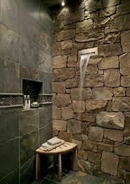 coole und praktische badezimmer ideen und bilder stein