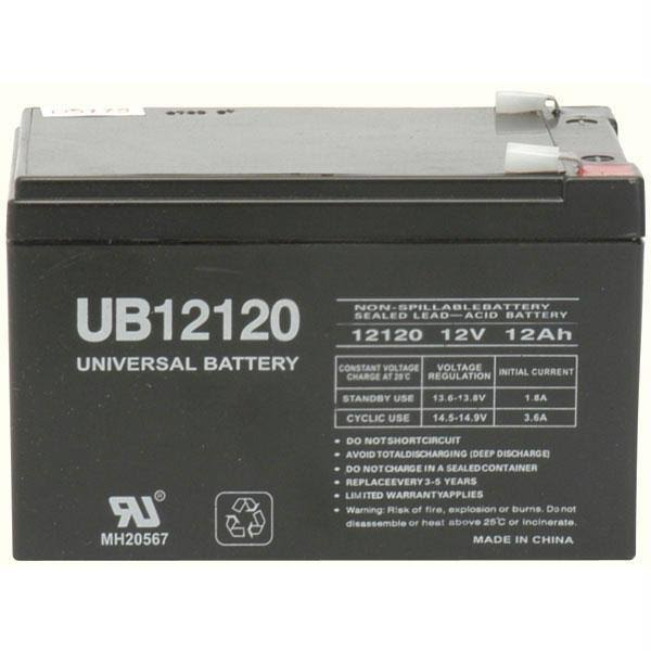 UPG D5775 Sealed Lead Acid UB12120 Universal Battery - 12V