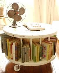 round wood end table foter