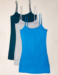 zenana outfitters 3 pack rayon u0026amp spandex camisole tops with