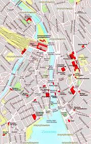 California Zurich Top Tourist Attractions Map 15 City Center Offline Interactive Guide Main Street Information Centre Sightseeing High Resolution