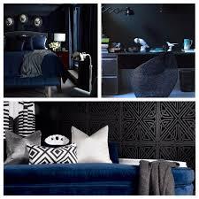 Verfuhrerisch Blue And Black Bedroom Decorating Comforter Sets Set