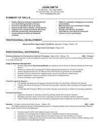 Executive Assistant Resumes Examples 2 Resume Administrative Sample For Skills Free