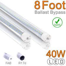 8ft led lights 40 watts t8 led t8 led bulbs