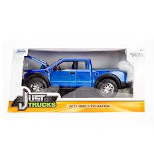 Just Trucks Series: 2017 Ford F-150 Raptor (Blue) 1/24 Scale