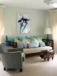 Gourd Lamp Living Room Beach With Aqua Pig Sea Blue Symmetry Throw Pillows