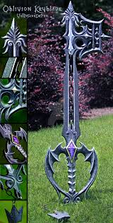 Halloween Town Keyblade Kh2 by This Is The Oblivion Keyblade In Kingdom Hearts I U0026 Ii Watch A