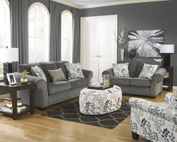 Levon Sofa Charcoal Upholstery by Furniture Sectional Sofas San Jose Fremont Furniture Outlet