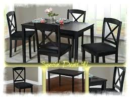 Medium Size Of Black Dinette Table Sets Dining Room Set Chairs Modern Kitchen Wood 5 Piece