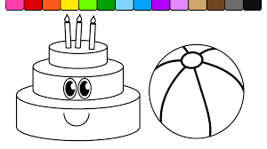 Download Coloring Pages Beach Ball Page
