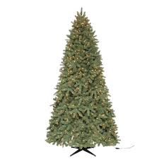 Balsam Spruce Artificial Christmas Trees by 149 50 Martha Stewart Living 9 Ft Pre Lit Downswept Wimberly