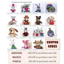 Amigurumi Crochet Patterns Use Coupon Codes At Check Out On ... In The Light By Casey Daycrosier Malabrigo Mechita In Ravelry Coupon Discount Cherry Culture April 2018 All Categories Sentry Box Designs Black Friday Cyber Monday Sale My Store Julie Lauralee On Twitter Permafrost Ewarmer Pattern Is Live Knitting Pattern Douro Baby Romper And Dress Knitting Simply Socks Yarn Co Blog Derby Divas Free With Good Morning Raindrop The Little Fox Now Available Redeeming Your Golden Ticket Plucky Knitter Lazy Hobbyhopper 70 Off Etsy Littletheorem New Year
