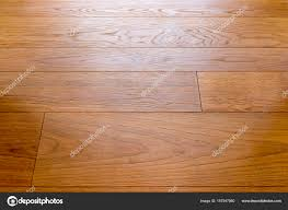 Shiny Wooden Panel Floor For Backgrounds Stock Photo