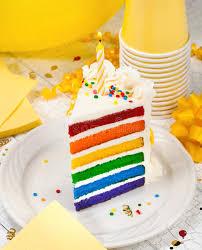 Download Slice of Birthday Cake stock image Image of homemade