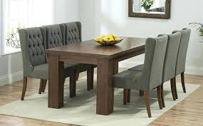 Dining Table Chairs Set Room Sets 4 Dark Wood Amazing Great Furniture Trading