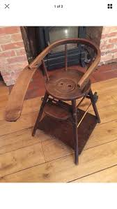 Antique Victorian Wooden Highchair Table In Aylesbury Vale For ... Old Wooden High Chairs For Babies Modern Chair Decoration 16 Best 2018 Amazoncom Ciao Baby Portable For Travel Fold Up Table And Doll Miniature Fniture Vintage Etsy Fisher Price Baby Toy Food Set Rare Play Slideshow Things We Commonly See At Roadshow Antiques Roadshow Pbs 8 Hook On Of Vintage Highchair Rental Minted Dessert Stand Early 1950s Solid Wood Highchair Rocker Very Solid Sweet Sewn Stitches Thursday Threads Antique Makeover