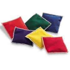 Amazon Learning Resources Rainbow Bean Bags 6 Piece Toys Games