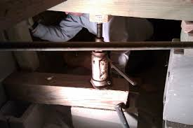 Floor Joist Jack Crawl Space by It U0027s Not Rocket Science Corner Rebuild Day 2 Supporting The