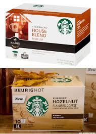 Old Starbucks K Cup Box Top Versus New Below