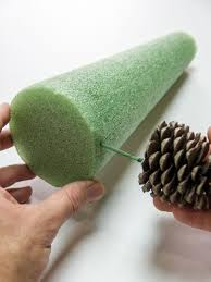 Pine Cone Christmas Tree Centerpiece by Pine Cone Tree Craft Pine Cone Tree Cone Trees And Rustic Charm