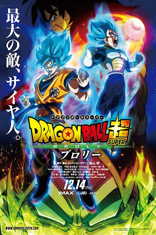 Dragon Ball Super Broly 2018 Full English Movie Download BRRip 1080p | G-Drive Link | Watch Online